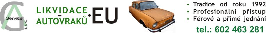 Likvidace autovraků logo